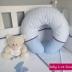 Blue Feeding Cushion