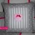 Applique Heart Scatter Cushion
