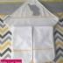 Ellie Themed Hooded Towel & Burp Cloth Set