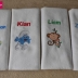 Burp Cloth Set Variety
