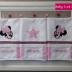 Personalised Minnie Mouse Burp Cloth Set