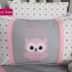 Owl Themed Name Cushion