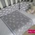 Cloud & Bunny Print Cot Set