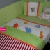 Jungle Animals Cot Set in Bright Colour Variety