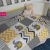 Grey & Yellow Ellie Patchwork