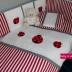Red/White Ladybug Cot Set