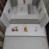 Grey/White Winnie & Friends Cot Set