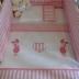Pink/White Piglet Cot Set
