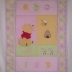 Winnie the Pooh Cot Comforter in Pastel Shades