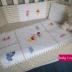 Winnie & Friends Cot Set - Beige & White