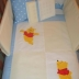 Blue/White Winnie the Pooh Cot Set