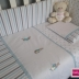 Duck egg & grey Peter Rabbit Cot Set