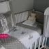 Grey/White Tatty Teddy Cot Set