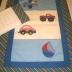 Blue/White Boys Toys Duvet Cover Set
