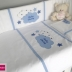 Personalised Clouds Cot Set