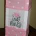 Pink Polka Dot Tatty Teddy Lantern