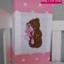 Tatty Teddy Lantern - Pink Polka Dots