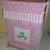 Pink Polka Dot Tatty Teddy Laundry Hamper