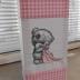 Pink Gingham Tatty Teddy Lantern