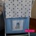 Blue & Star Print Tatty Teddy Laundry Hamper